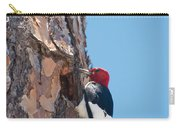 Red Headed Woodpecker Carry-all Pouch