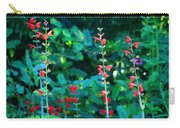 Red Salvias Carry-all Pouch