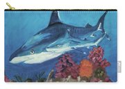2 Reef Sharks Carry-all Pouch