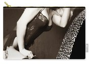 Retro Pinup Carry-all Pouch by Clayton Bruster
