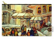 Ritz Carlton Montreal Streetscene Carry-all Pouch