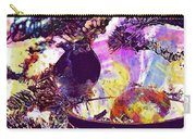 Robin Erithacus Rubecula Bird  Carry-all Pouch