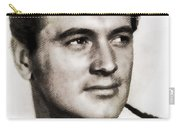 Rock Hudson, Vintage Hollywood Legend Carry-all Pouch