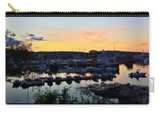 Rockport Harbor Sunset I Carry-all Pouch