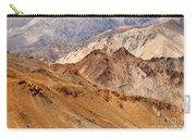 Rocks And Stones Mountains Ladakh Landscape Leh Jammu Kashmir India Carry-all Pouch