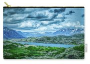 Rocky Mountains Nature Scenes On Alaska British Columbia Border Carry-all Pouch