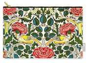 Rose Design Carry-all Pouch