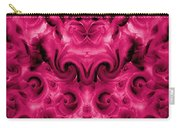 Roses Tapestry And Curls Carry-all Pouch
