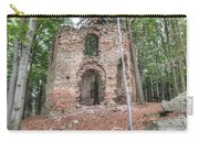 Ruins Of The Baroque Chapel Of Saint Mary Magdalene Carry-all Pouch