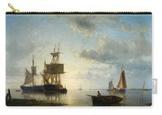 Sailing Ships At Dusk Carry-all Pouch