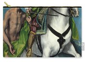 Saint Martin And The Beggar Carry-all Pouch