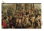 Saint Paul And Saint Barnabas At Lystra Carry-all Pouch