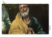 Saint Peter In Tears Carry-all Pouch