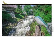 Salmon Hatchery Creek In Mountains Of Alaska Carry-all Pouch