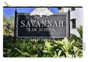 Savannah Law School Carry-all Pouch