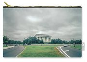Scenes Around Lincoln Memorial Washington Dc Carry-all Pouch