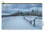Scenic Views At Brown Mountain Overlook In North Carolina At Sun Carry-all Pouch