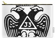 Seal: Freemasonry Carry-all Pouch