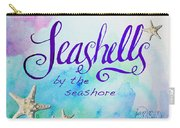 Seashells By Jan Marvin Carry-all Pouch