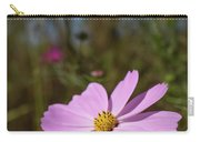 Sensation Cosmos Bipinnatus Fully Bloomed Pink Cosmos At Garde Carry-all Pouch