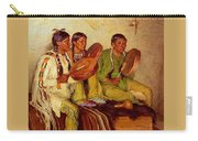 Sharp Joseph Henry Hunting Song Taos Indians Joseph Henry Sharp Carry-all Pouch
