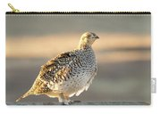 Sharp Tailed Grouse Carry-all Pouch