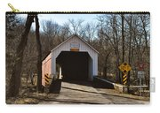 Sheards Mill Covered Bridge - Bucks County Pa Carry-all Pouch