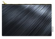 Shiny Black Hair  Carry-all Pouch