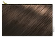 Shiny Brunette Hair  Carry-all Pouch