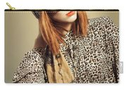 Sixties Retro Fashion Carry-all Pouch