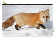 Sneaky Red Fox Carry-all Pouch