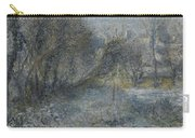 Snow Covered Landscape Carry-all Pouch