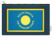 South Dakota Flag Carry-all Pouch