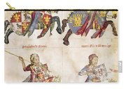 Spain: Knights, C1350 Carry-all Pouch