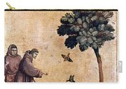 St. Francis Of Assisi Carry-all Pouch by Granger