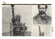 Statue Of Liberty, 1885 Carry-all Pouch by Granger
