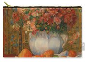 Still Life With Flowers And Prickly Pears Carry-all Pouch
