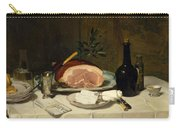 Still Life With Ham Carry-all Pouch