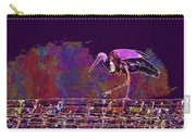Stork Bird Fly Plumage Nature  Carry-all Pouch