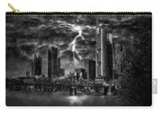 Storm Over Frankfurt Carry-all Pouch