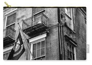 2 Story Building New Orleans Black White  Carry-all Pouch
