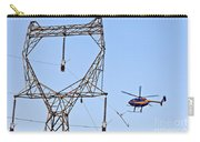 Stringing Power Cable By Helicopter Carry-all Pouch