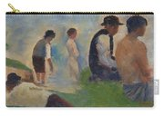 Study For Bathers At Asnieres Carry-all Pouch