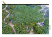 Summer Time Lake And Green Forest, In Poland Lanscape.  Carry-all Pouch