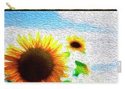 Sunflowers Abstract Carry-all Pouch