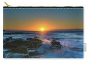 Sunrise And The Sea Carry-all Pouch