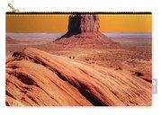 Sunrise Monument Valley Carry-all Pouch