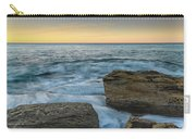 Sunrise On The Rocky Coast Carry-all Pouch