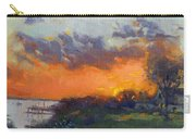 Sunset At Gratwick Waterfront Park Carry-all Pouch
