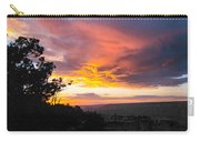 Sunset At Yaki Point Carry-all Pouch
